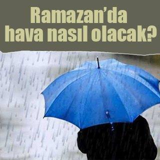 Ramazan'da hava nasıl olacak? Bakan açıkladı