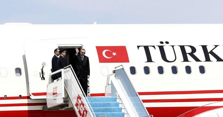 Cumhurbaşkanı Erdoğan bugün Çin'e gidecek