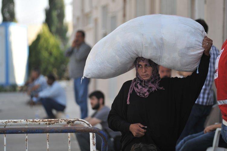 Suriyelilere yine sahip çıktık!