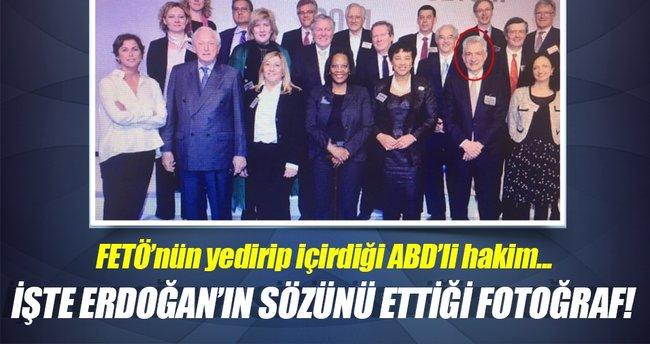 İşte Erdoğan'ın sözünü ettiği fotoğraf!