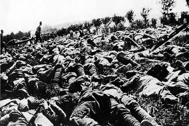 1900-1999 yılları arasında yaşanan savaşlar