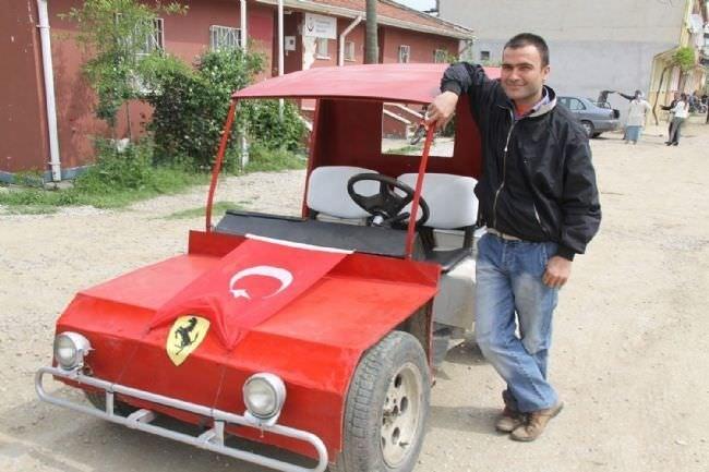 Yerli Ferrari üretti!