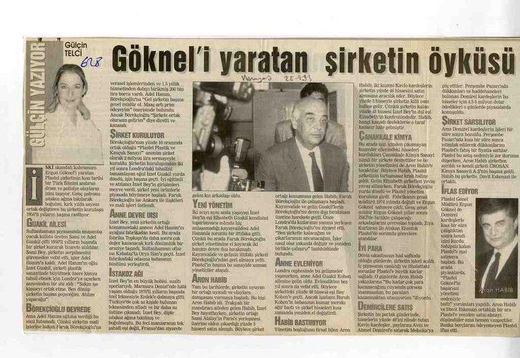 İŞTE GAZETE KUPÜRLERİNDEN 1989 İSKİ SKANDALI