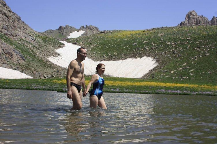 Cilo Dağı tatil yerine döndü!