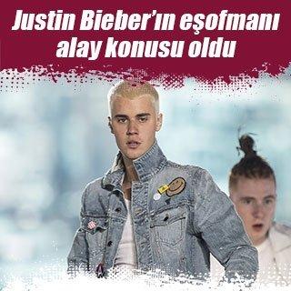 Justin Bieber'ın eşofmanı olay oldu
