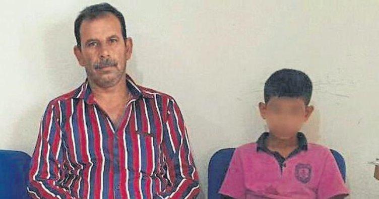 13 yaşındaki oğluna kaçak sigara sattırdı