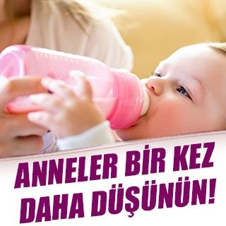 Biberonla içilen süt bebeğinizin…