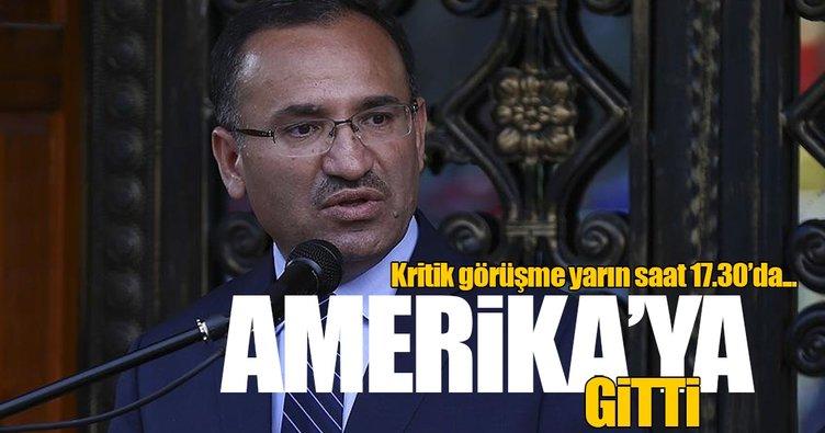 Adalet Bakanı Bozdağ FETÖ elebaşının iadesi için ABD'ye gitti