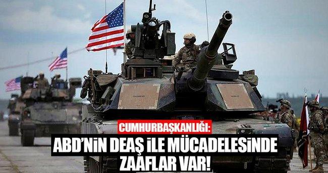 İbrahim Kalın: ABD'nin DEAŞ ile mücadelesi sıkıntılı!