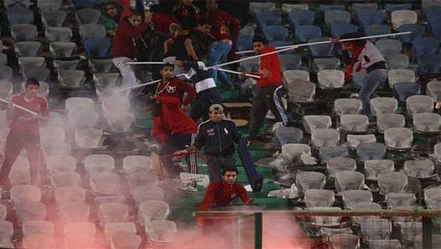 Süper Kupa finalinde ortalık karıştı