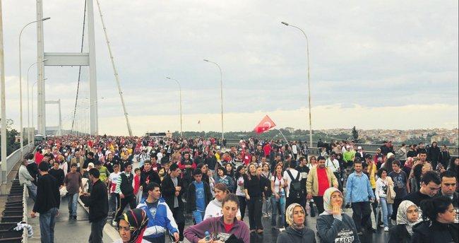 İstanbul'da maraton heyecanı başladı