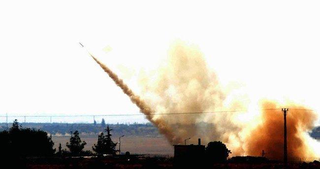 Fırat Kalkanı Harekatı'nda 135 hedef ateş altına alındı