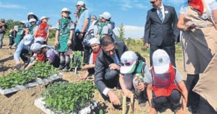 İTB çocuklara tarımı sevdirecek