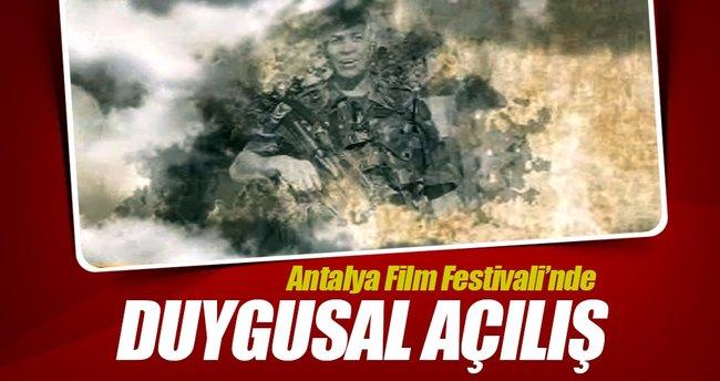 Antalya Film Festivali'nde duygusal açılış