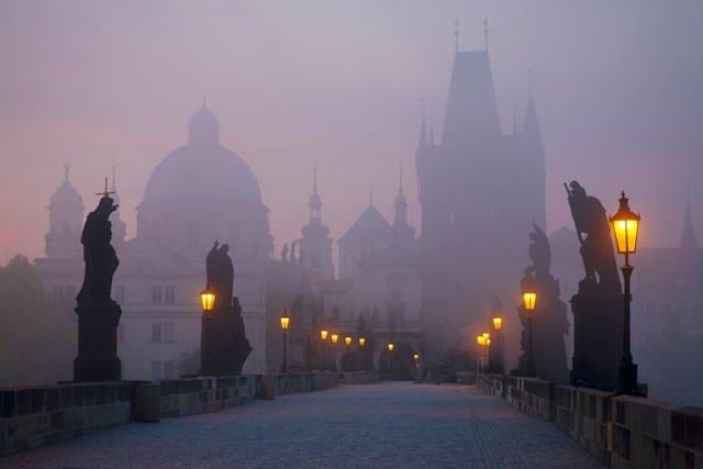 En romantik 7 Avrupa şehri