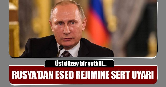 RUSYA'DAN ESED REJİMİNE ATEŞKES UYARISI
