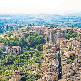 Ortaçağ'dan günümüze armağan: Siena