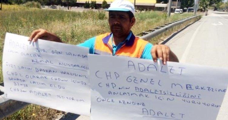 CHP'nin işten attığı işçi: Önce kendinizi görün