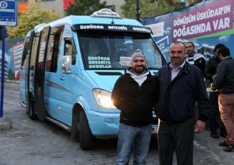 Dolmuş şoföründen Suriyeli Mültecilerle ilgili örnek davranış