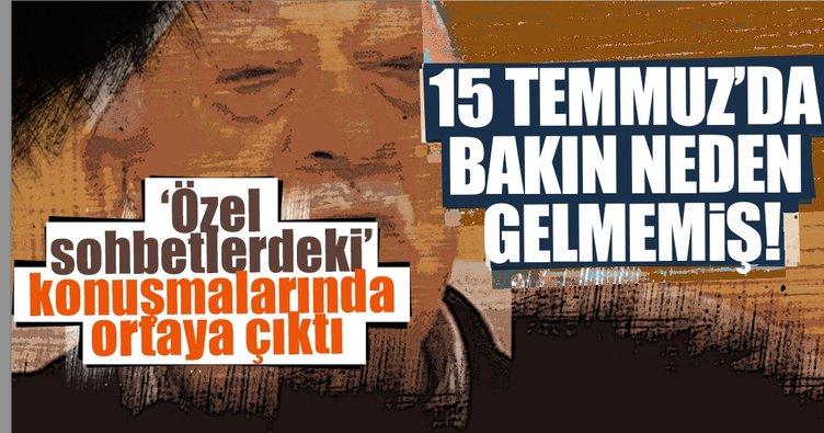 Türkiye'ye gelip darbeyi yönetecekti