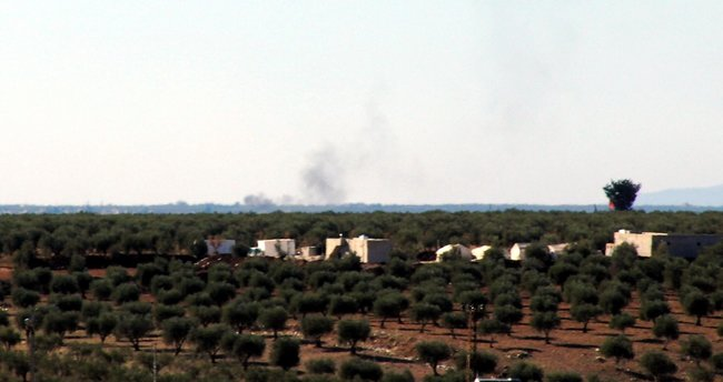 Kilis'in karşısındaki terör merkezleri vuruluyor