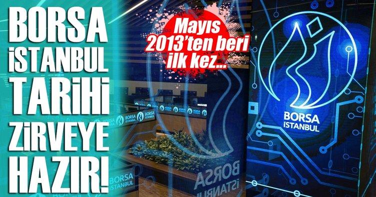 Borsa İstanbul son 4 yılın zirvesinde!