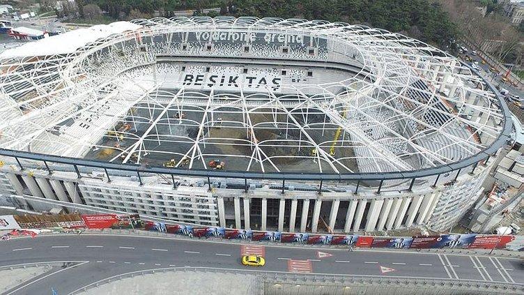 Vodafone Arena'da sona yaklaşılıyor