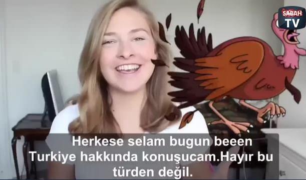 Danimarkalı kızdan Türkiye yorumu