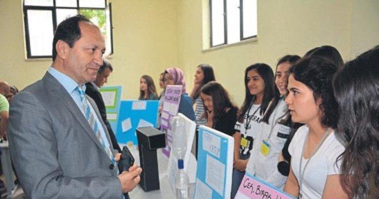 Öğrencilerin örnek bilim projeleri
