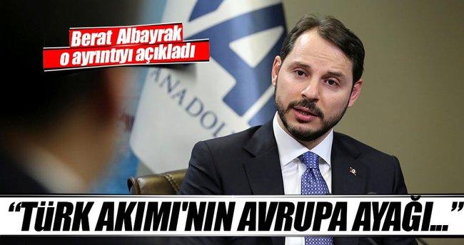 Berat Albayrak'tan Türk Akımı açıklaması