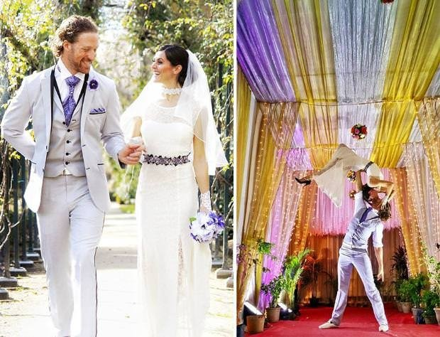 83 günde 38 farklı yerde evlendiler!
