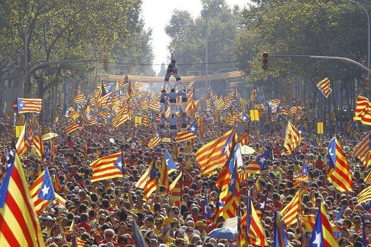 Katalonya için bağımsızlık sesleri