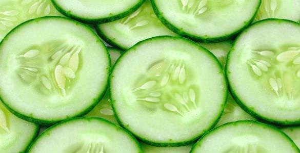 Salatalık güzellik için birebir!