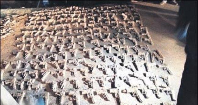 Üsküdar'da yeni silahlar bulundu