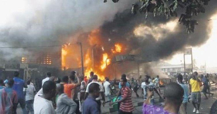 Petrol kuyusuna saldırı: 30 ölü