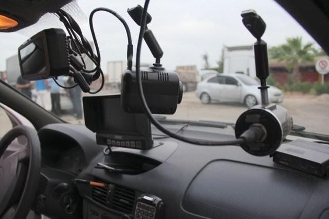 Polisi şaşkına çeviren araç