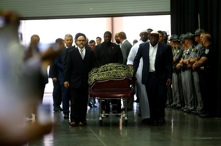 Cumhurbaşkanı Erdoğan Muhammed Ali'nin cenazesine katıldı