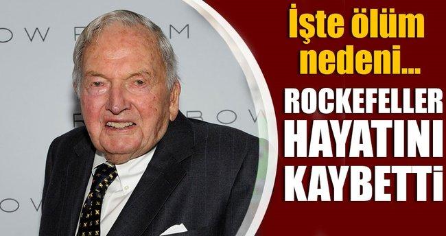 Milyarder iş adamı David Rockefeller hayatını kaybetti