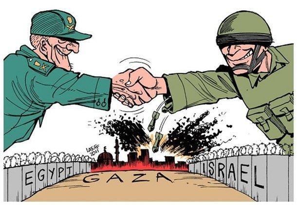 Arap çizerler Arap liderleri böyle rezil etti