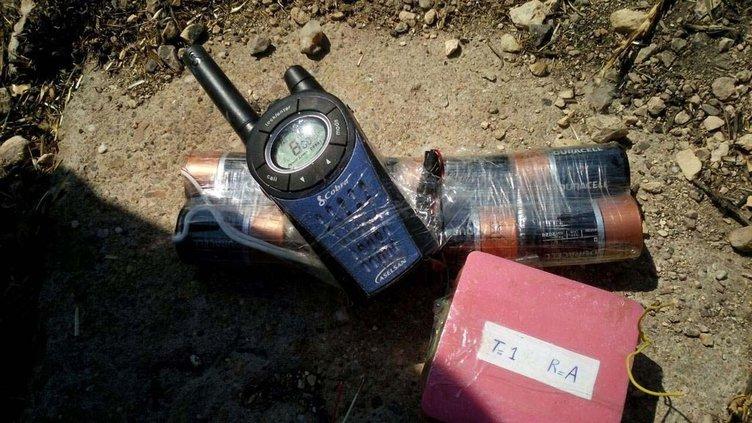 Diyarbakır-Bingöl karayolunda 690 kilo patlayıcı bulundu