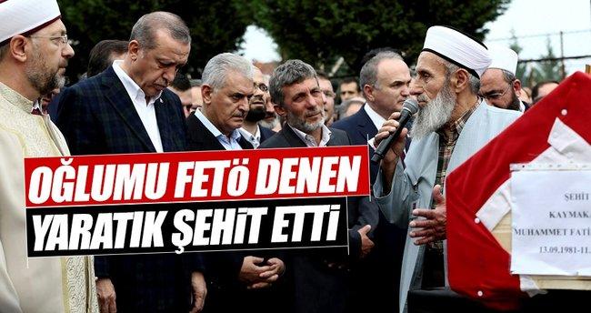 Asım Safitürk: Oğlumu FETÖ denen yaratık şehit etti