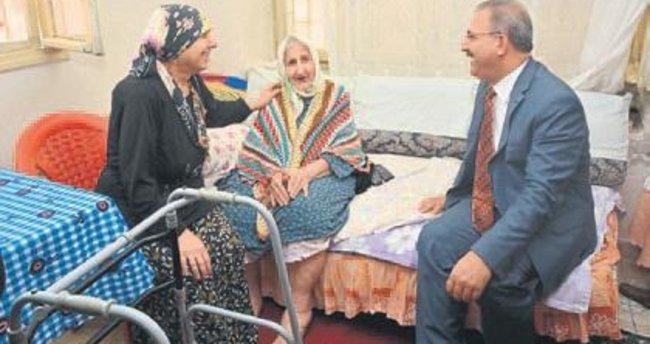 Antakya Belediyesi'nden yaşlılara bakım hizmeti