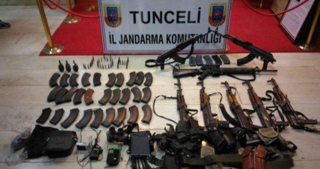 Terör örgütüne bir darbe de Tunceli'den