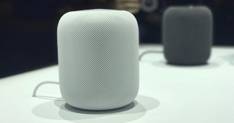 Evdeki akıllı müzik hoparlörü HomePod