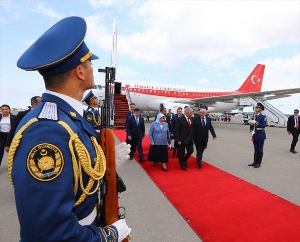 Başbakan Binali Yıldırım, Azerbaycan'da