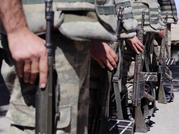 Atmacalar Suriye sınırında hazır kıta