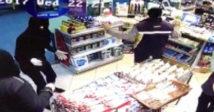 Şişli'de benzin istasyonunda silahlı soygun