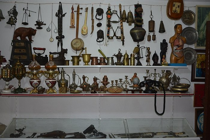 Babasından kalan eşyalarla müze oluşturdu