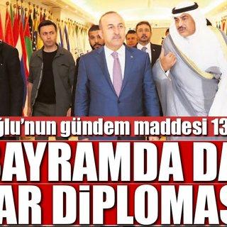 Bayramda da 'Katar diplomasisi'