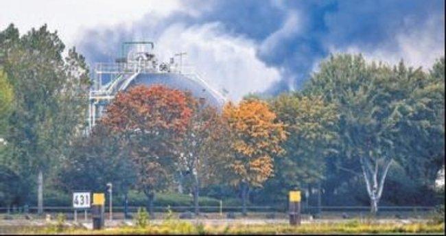Kimya şirketinde patlama: 1 ölü, 7 yaralı